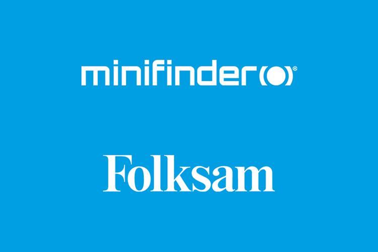 Folksam rekommenderar MiniFinders GPS-larm!